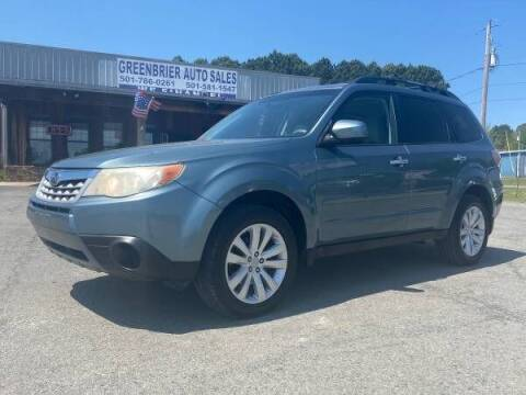 2011 Subaru Forester for sale at Greenbrier Auto Sales in Greenbrier AR