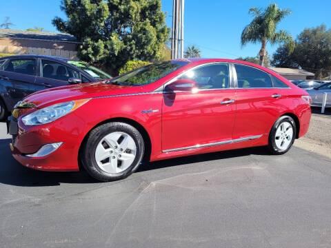 2012 Hyundai Sonata Hybrid for sale at Geiman Motors in Escondido CA