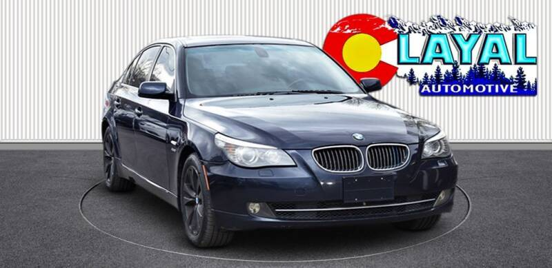 2009 BMW 5 Series for sale at Layal Automotive in Englewood CO