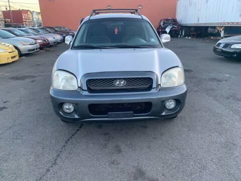 2003 Hyundai Santa Fe for sale at SUNSHINE AUTO SALES LLC in Paterson NJ