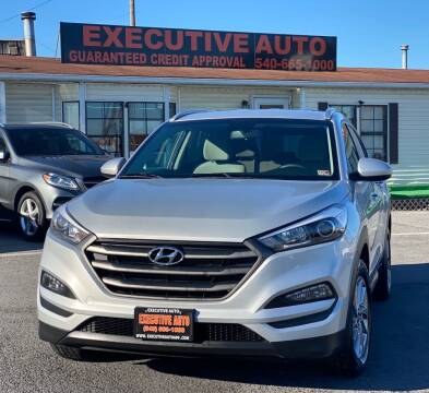2017 Hyundai Tucson for sale at Executive Auto in Winchester VA