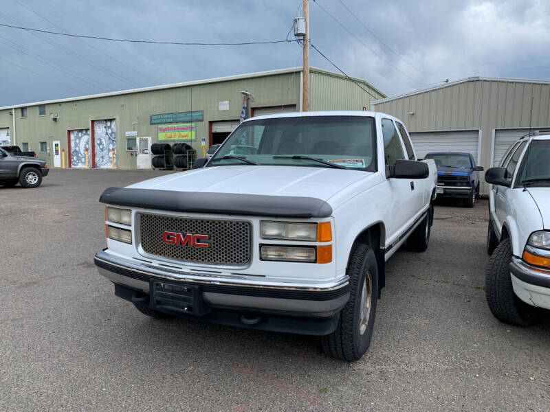 1997 GMC Sierra 1500 for sale at Highbid Auto Sales & Service in Arvada CO