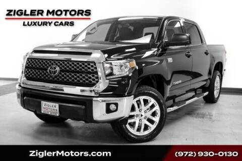 2020 Toyota Tundra for sale at Zigler Motors in Addison TX