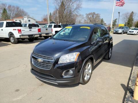 2015 Chevrolet Trax for sale at Clare Auto Sales, Inc. in Clare MI