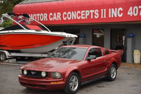 2005 Ford Mustang for sale at Motor Car Concepts II - Apopka Location in Apopka FL