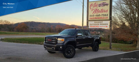 2015 GMC Sierra 1500 for sale at City Motors in Mascot TN
