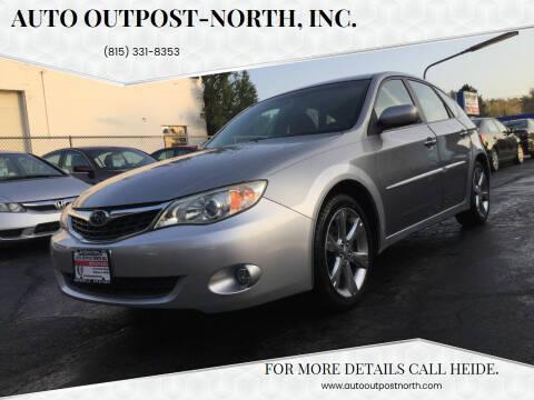 2009 Subaru Impreza for sale at Auto Outpost-North, Inc. in McHenry IL