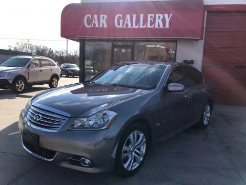 2008 Infiniti M35 for sale at Car Gallery in Oklahoma City OK