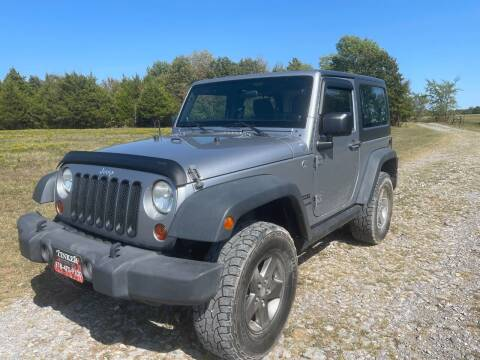 2013 Jeep Wrangler for sale at TINKER MOTOR COMPANY in Indianola OK