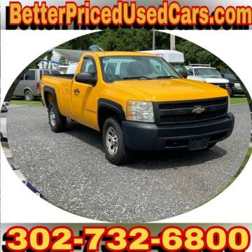 2008 Chevrolet Silverado 1500 for sale at Better Priced Used Cars in Frankford DE