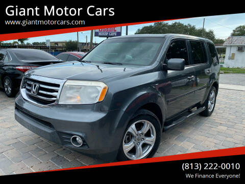 2013 Honda Pilot for sale at Giant Motor Cars in Tampa FL