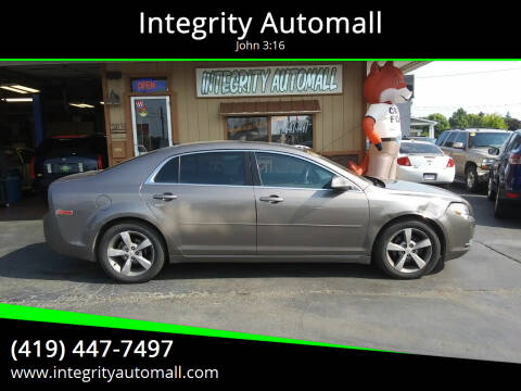2011 Chevrolet Malibu for sale at Integrity Automall in Tiffin OH