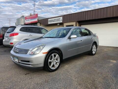 2004 Infiniti G35 for sale at WINDOM AUTO OUTLET LLC in Windom MN