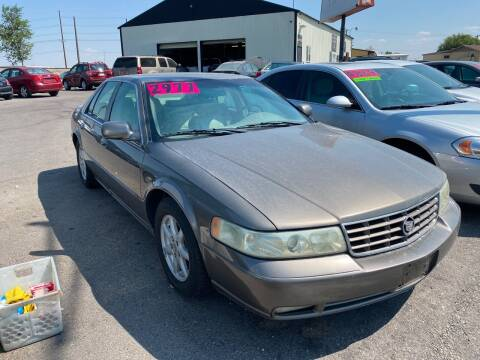 2003 Cadillac Seville for sale at BELOW BOOK AUTO SALES in Idaho Falls ID