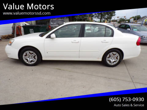 2008 Chevrolet Malibu Classic for sale at Value Motors in Watertown SD