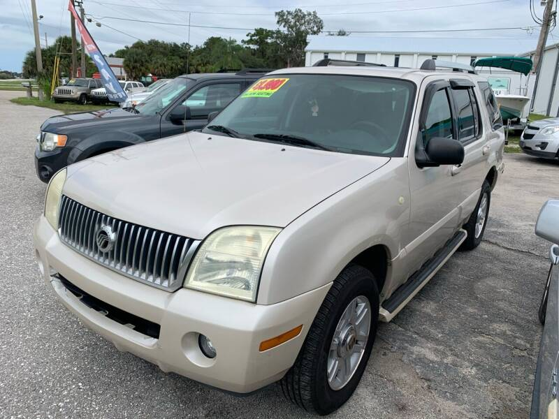 2005 Mercury Mountaineer for sale at EXECUTIVE CAR SALES LLC in North Fort Myers FL