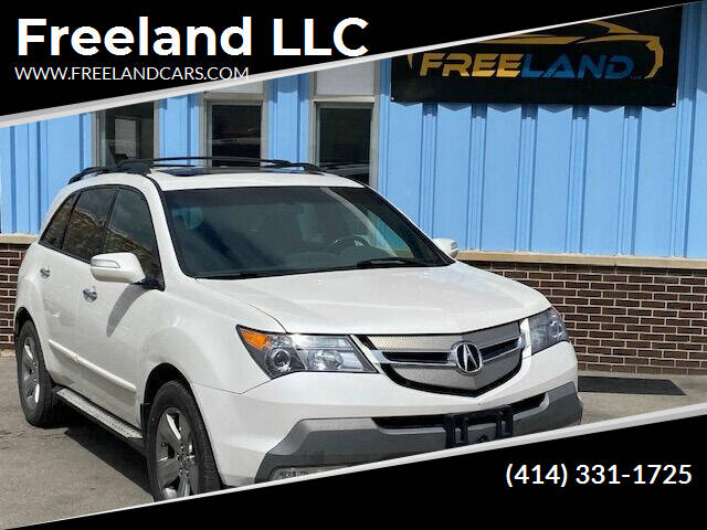 2007 Acura MDX for sale at Freeland LLC in Waukesha WI