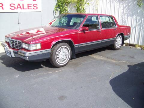 1991 Cadillac DeVille for sale at Collector Car Co in Zanesville OH