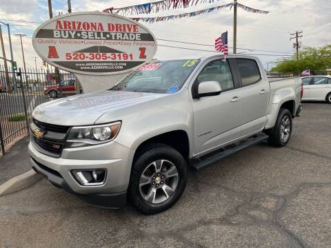 2015 Chevrolet Colorado for sale at Arizona Drive LLC in Tucson AZ