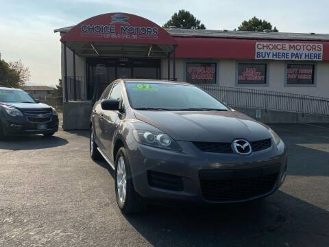2007 Mazda CX-7 for sale at Choice Motors of Salt Lake City in West Valley  City UT