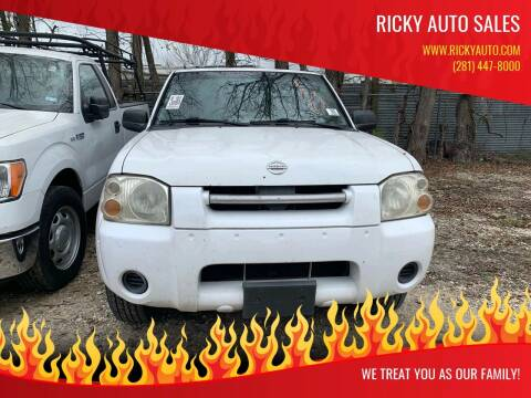 2004 Nissan Frontier for sale at Ricky Auto Sales in Houston TX