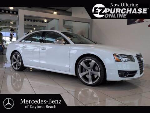 2013 Audi S8 for sale at Mercedes-Benz of Daytona Beach in Daytona Beach FL