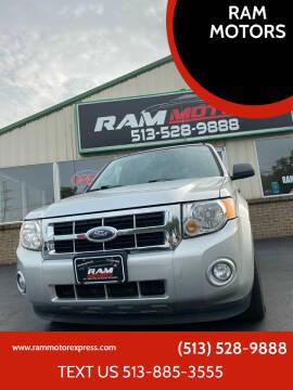 2009 Ford Escape for sale at RAM MOTORS in Cincinnati OH