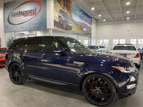 2017 Land Rover Range Rover Sport for sale at Godspeed Motors in Charlotte NC