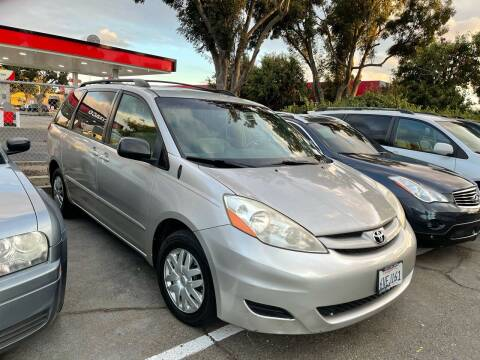 2008 Toyota Sienna for sale at Blue Eagle Motors in Fremont CA