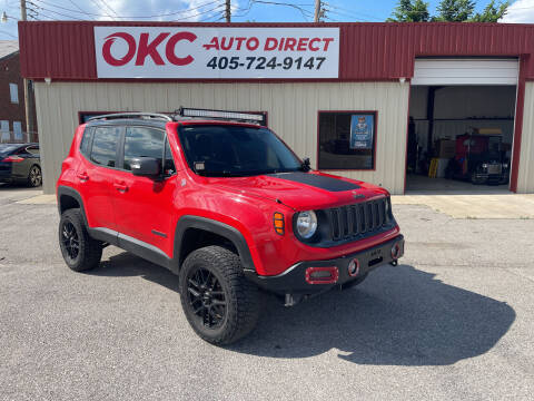 2016 Jeep Renegade for sale at OKC Auto Direct in Oklahoma City OK