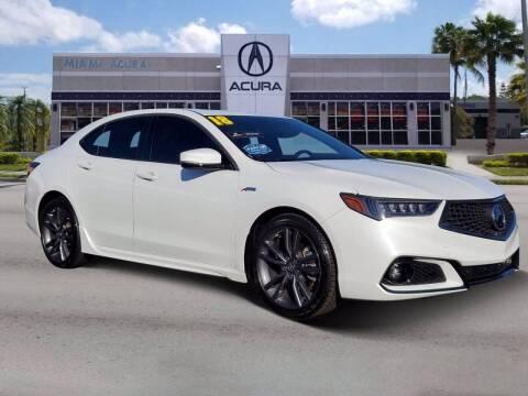 2018 Acura TLX for sale at MIAMI ACURA in Miami FL