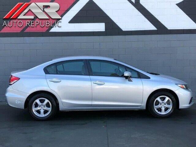 2014 Honda Civic for sale at Auto Republic Fullerton in Fullerton CA