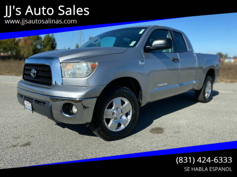 2007 Toyota Tundra for sale at JJ's Auto Sales in Salinas CA