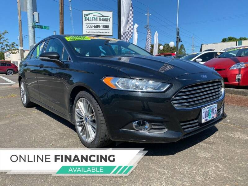 2013 Ford Fusion for sale at Salem Auto Market in Salem OR