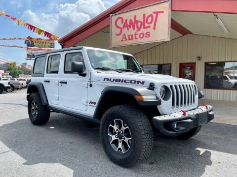 2019 Jeep Wrangler Unlimited for sale at Sandlot Autos in Tyler TX