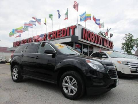 2016 Chevrolet Equinox for sale at Giant Auto Mart 2 in Houston TX