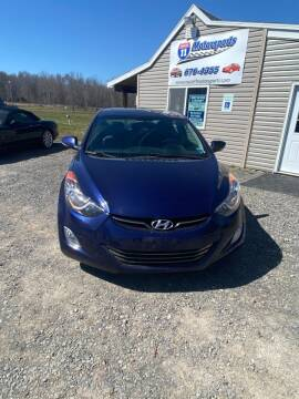 2011 Hyundai Elantra for sale at ROUTE 11 MOTOR SPORTS in Central Square NY