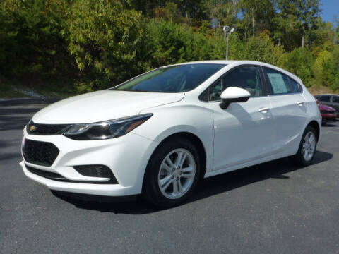 2018 Chevrolet Cruze for sale at RUSTY WALLACE KIA OF KNOXVILLE in Knoxville TN