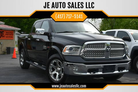 2015 RAM Ram Pickup 1500 for sale at JE AUTO SALES LLC in Webb City MO