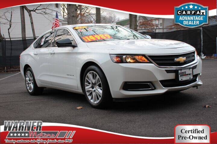 2015 Chevrolet Impala for sale at Warner Motors in East Orange NJ