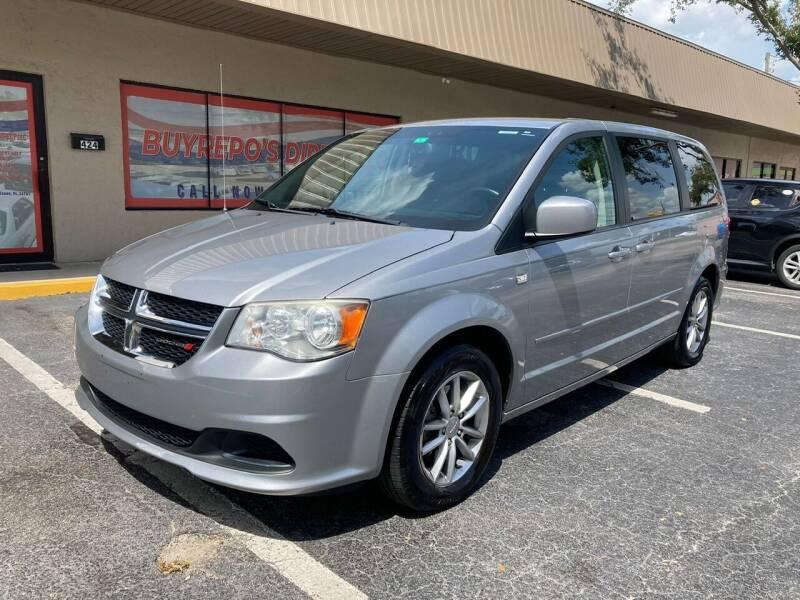 2014 Dodge Grand Caravan for sale at Top Garage Commercial LLC in Ocoee FL