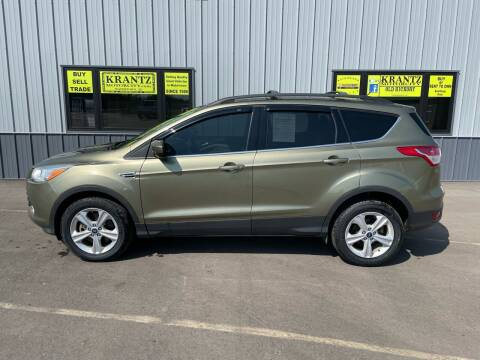 2013 Ford Escape for sale at Krantz Motor City in Watertown SD