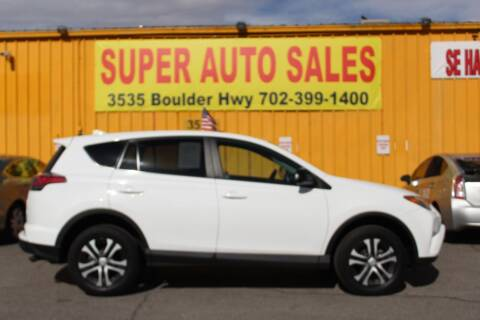 2018 Toyota RAV4 for sale at Super Auto Sales in Las Vegas NV