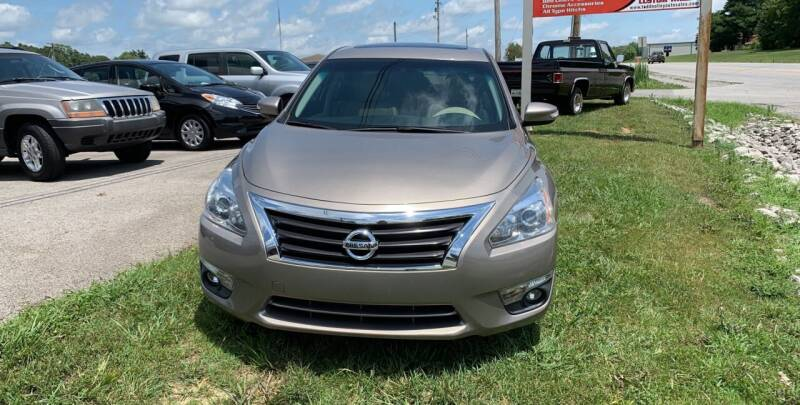 2014 Nissan Altima for sale at Todd Nolley Auto Sales in Campbellsville KY
