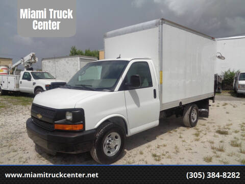 2015 Chevrolet Express Cutaway for sale at Miami Truck Center in Hialeah FL