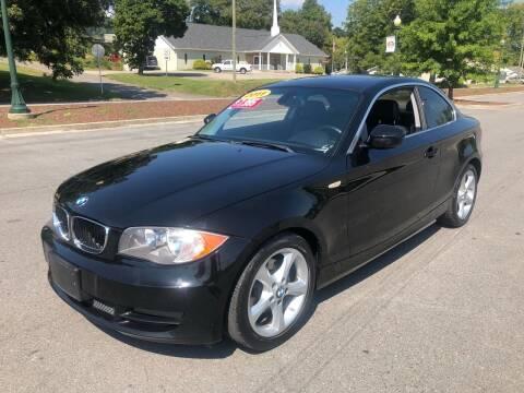 2011 BMW 1 Series for sale at Diana Rico LLC in Dalton GA
