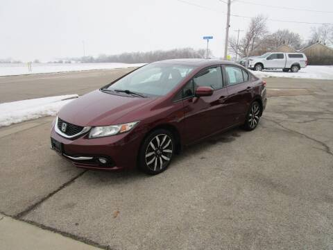 2014 Honda Civic for sale at Dunlap Motors in Dunlap IL