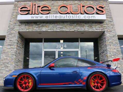 2011 Porsche 911 for sale at Elite Autos LLC in Jonesboro AR