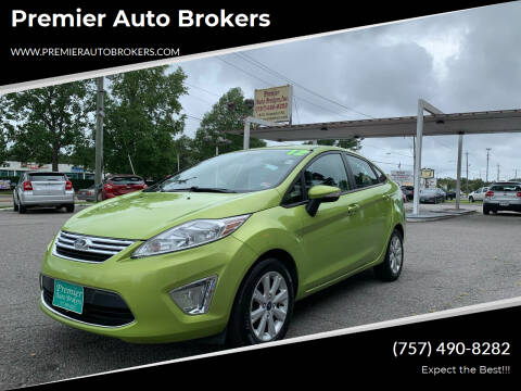 2012 Ford Fiesta for sale at Premier Auto Brokers in Virginia Beach VA