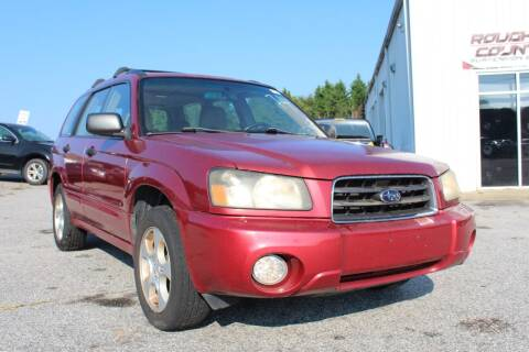 2003 Subaru Forester for sale at UpCountry Motors in Taylors SC